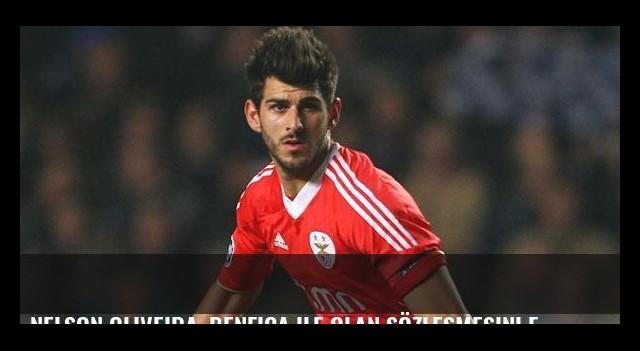 Nelson Oliveira, Benfica ile olan sözleşmesini feshetti