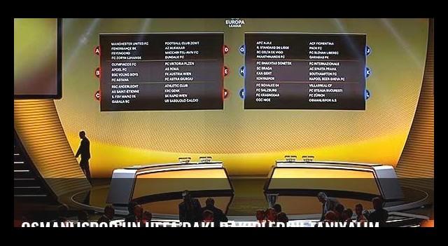 Osmanlıspor'un UEFA'daki rakiplerini tanıyalım