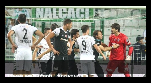 Atiker Konyaspor - Beşiktaş:2-2