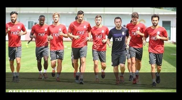 Galatasaray rejenerasyon çalışması yaptı