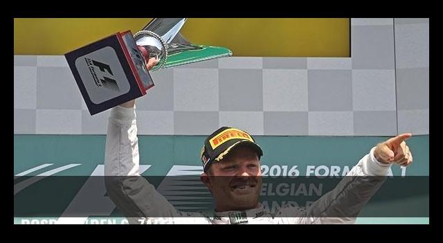 Rosberg'den 6. zafer!
