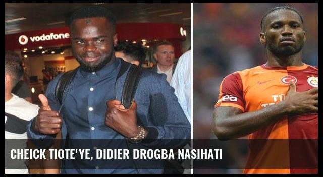 Cheick Tiote'ye, Didier Drogba nasihati