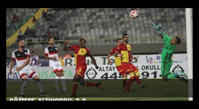 Göztepe-Altınordu: 3-2