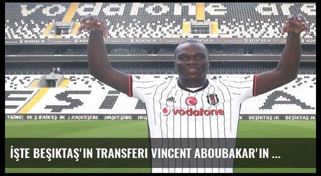İşte Beşiktaş'ın transferi Vincent Aboubakar'ın forma numarası