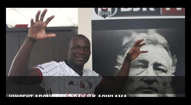 Vincent Aboubakar'dan ilk açıklama