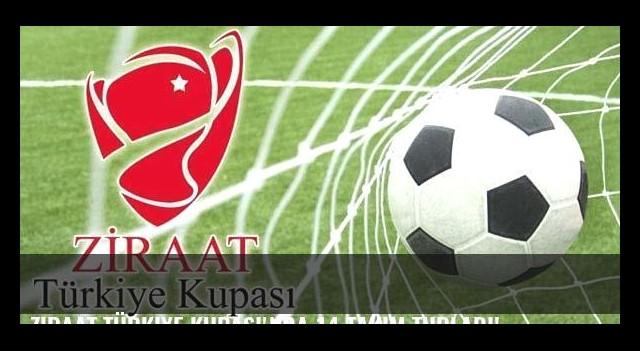 Ziraat Türkiye Kupası'nda 14 takım turladı!