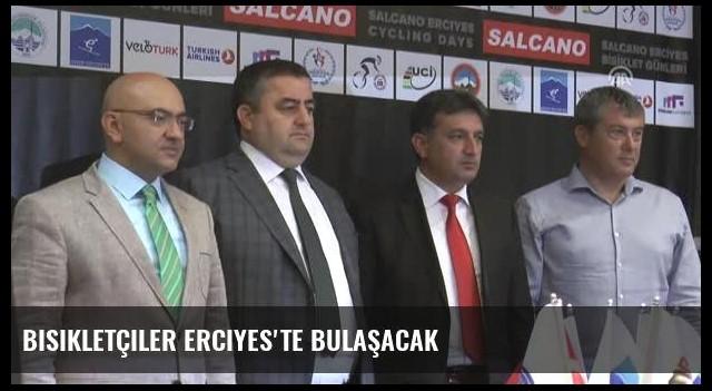 Bisikletçiler Erciyes'te Bulaşacak