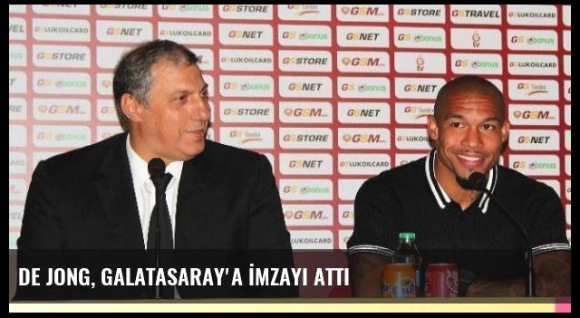 De Jong, Galatasaray'a İmzayı Attı