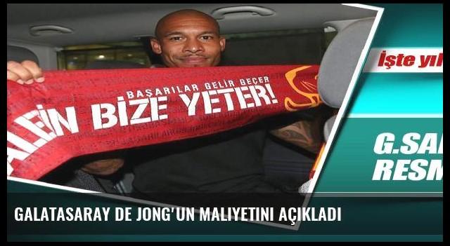 Galatasaray De Jong'un maliyetini açıkladı