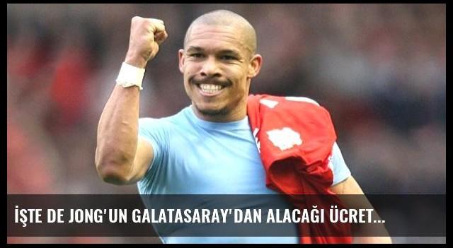 İşte de Jong'un Galatasaray'dan Alacağı Ücret