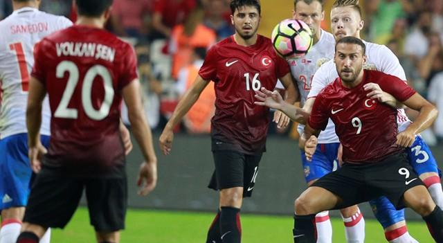 Türkiye:0 Rusya:0 | Maç sonucu