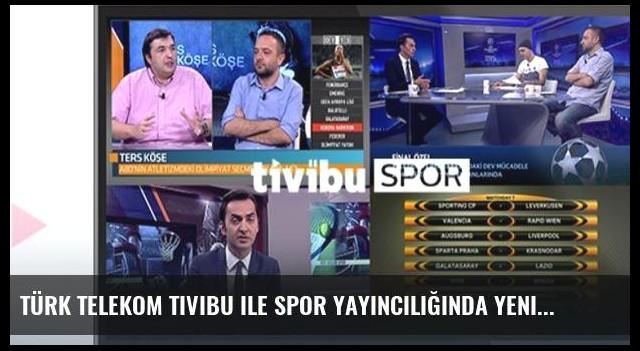 Türk Telekom Tivibu ile spor yayıncılığında yeni heyecan