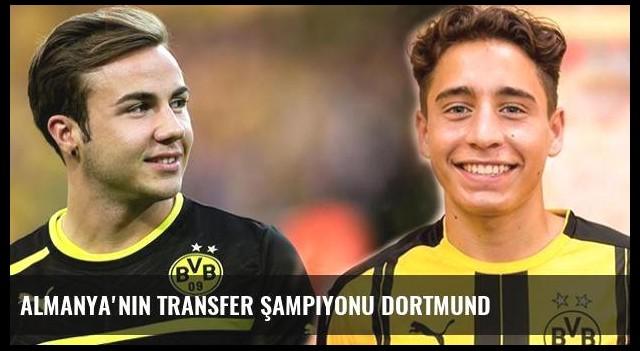 Almanya'nın transfer şampiyonu Dortmund