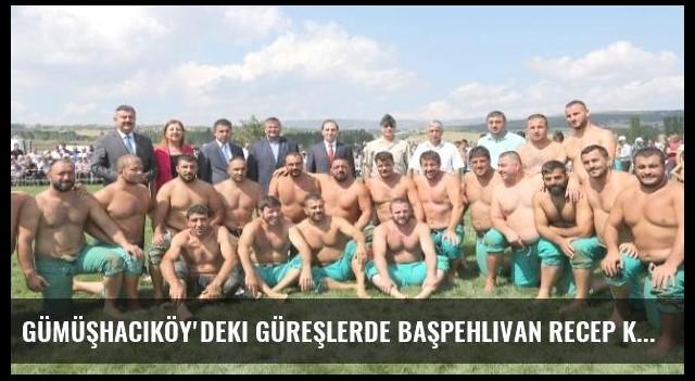 Gümüşhacıköy'deki Güreşlerde Başpehlivan Recep Kara Oldu