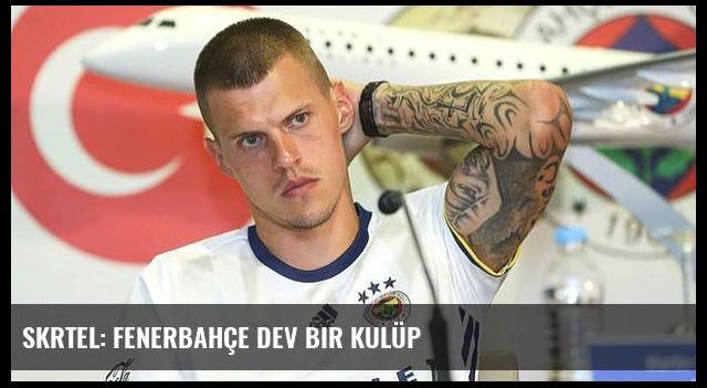 Skrtel: Fenerbahçe dev bir kulüp