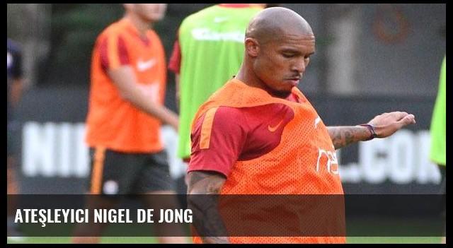 Ateşleyici Nigel de Jong