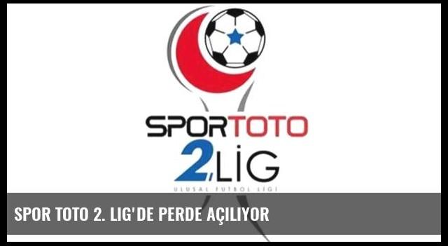 Spor Toto 2. Lig'de perde açılıyor