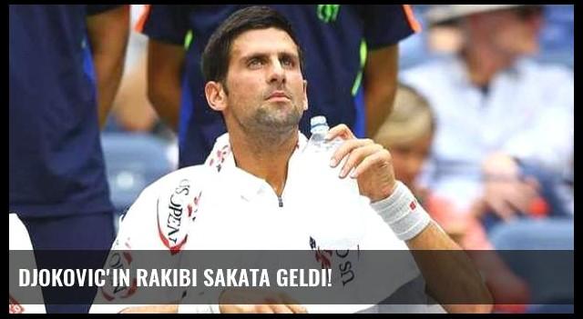 Djokovic'in rakibi sakata geldi!
