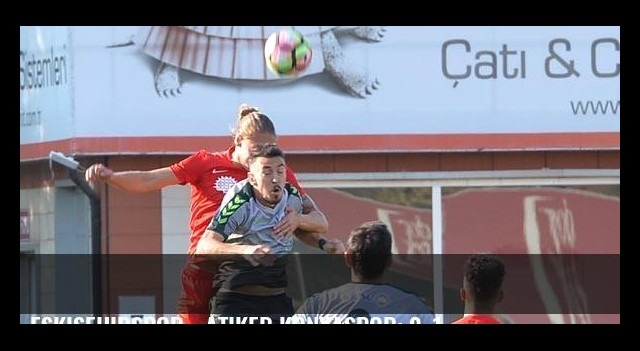 Eskişehirspor - Atiker Konyaspor: 0-1