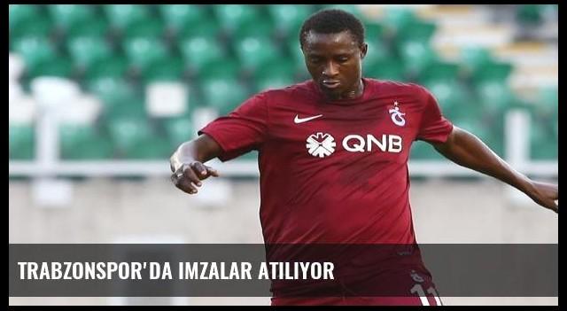 Trabzonspor'da imzalar atılıyor
