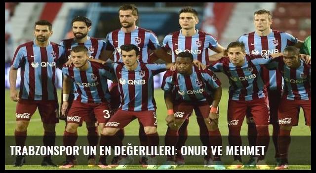 Trabzonspor'un en değerlileri: Onur ve Mehmet