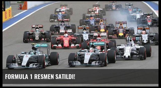 Formula 1 resmen satıldı!