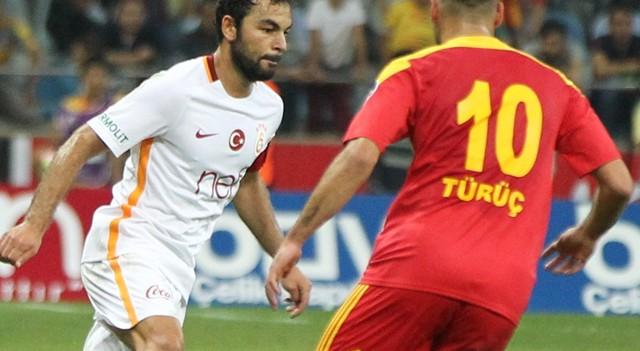 Galatasaray'da Selçuk İnan bir ilki yaşadı