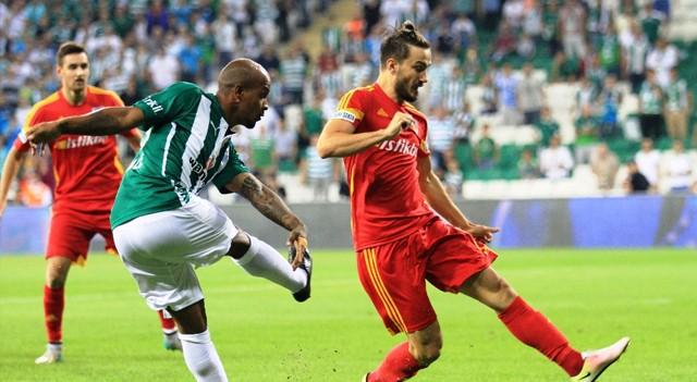 Bursaspor 3-1 Kayserispor | Süper Lig Maç sonucu