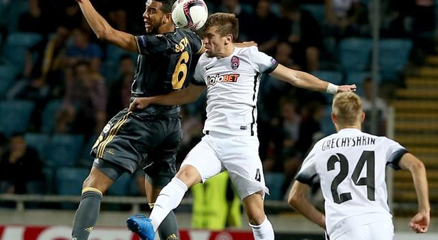 Ukrayna'da Fenerbahçe'nin beraberlik golü gündem oldu