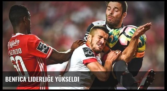 Benfica liderliğe yükseldi
