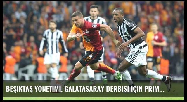 Beşiktaş Yönetimi, Galatasaray Derbisi İçin Prim Kararı Aldı