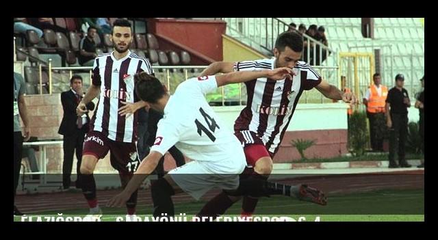 Elazığspor - Sarayönü Belediyespor: 6-4