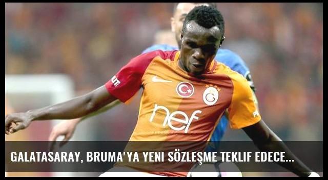 Galatasaray, Bruma'ya Yeni Sözleşme Teklif Edecek