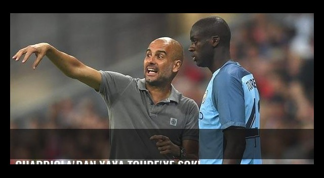 Guardiola'dan Yaya Toure'ye şok!