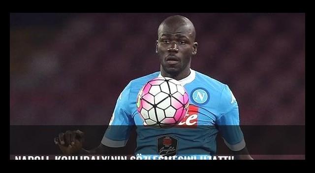 Napoli, Koulibaly'nin sözleşmesini uzattı!