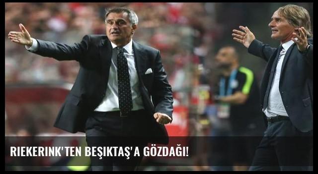 Riekerink'ten Beşiktaş'a gözdağı!