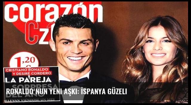 Ronaldo'nun yeni aşkı: İspanya güzeli