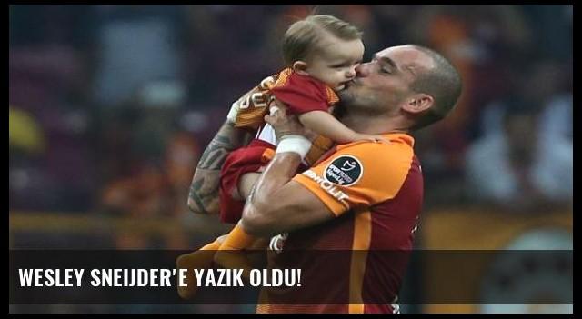 Wesley Sneijder'e yazık oldu!
