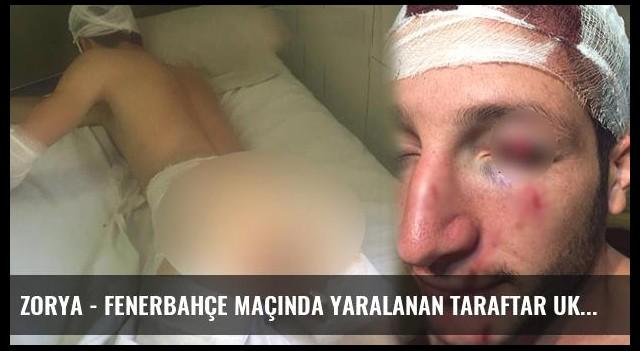 Zorya - Fenerbahçe Maçında Yaralanan Taraftar Ukrayna'da Mahsur Kaldı