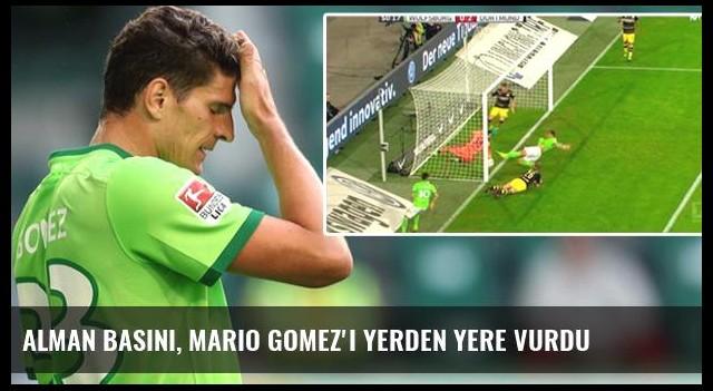 Alman Basını, Mario Gomez'i Yerden Yere Vurdu