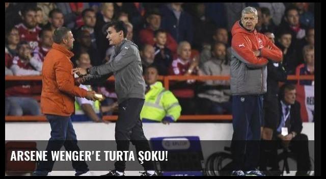 Arsene Wenger'e turta şoku!
