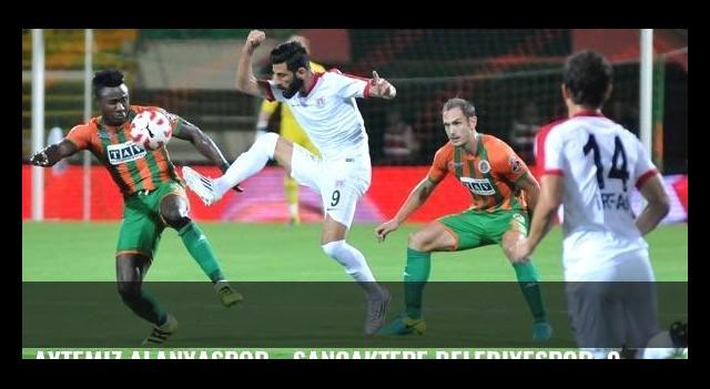 Aytemiz Alanyaspor - Sancaktepe Belediyespor: 0-1