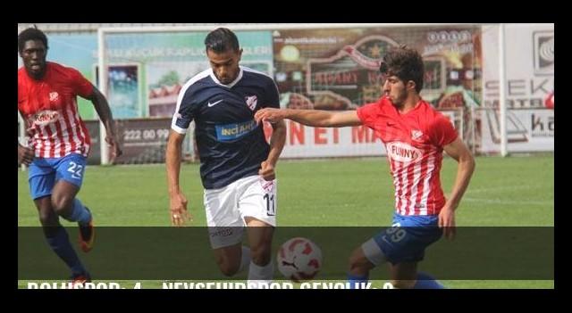 Boluspor: 4 - Nevşehirspor Gençlik: 0