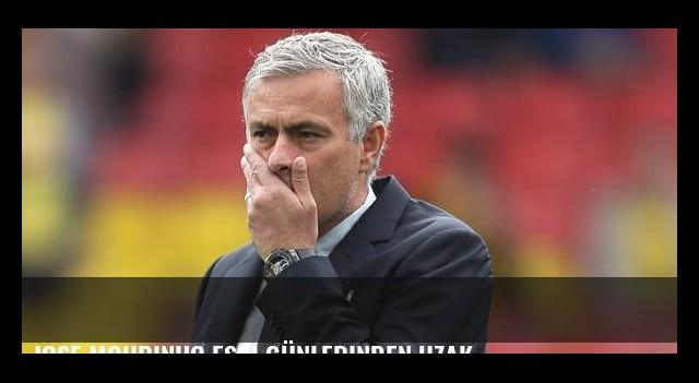 Jose Mourinho eski günlerinden uzak