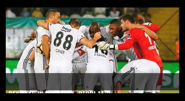 Beşiktaş'ın muhtemel  derbi 11'i!