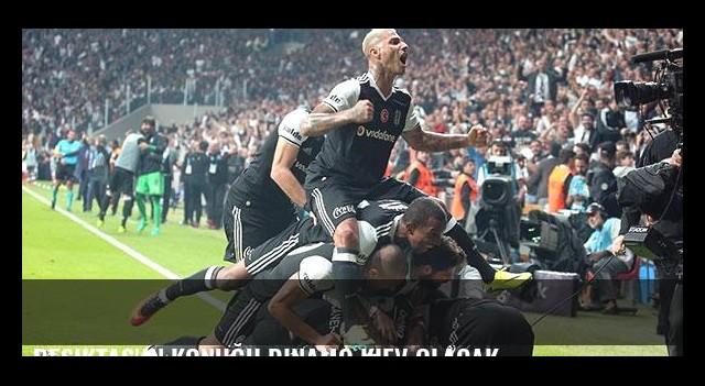 Beşiktaş'ın konuğu Dinamo Kiev olacak