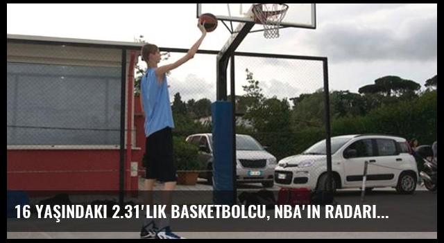 16 Yaşındaki 2.31'lik Basketbolcu, NBA'in Radarına Girdi