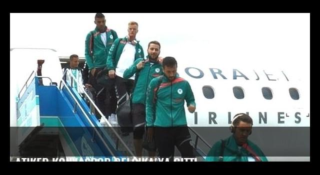 Atiker Konyaspor Belçika'ya gitti