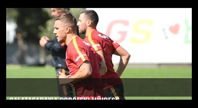 Galatasaray'a Podolski müjdesi!