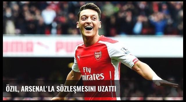 Özil, Arsenal'la Sözleşmesini Uzattı